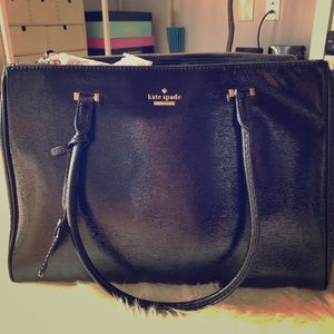 Kate Spade 3D Patent Leather Tote